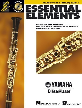 Essential Elements Band 1 für Klarinette (+CD)