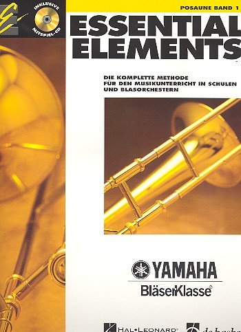 Essential Elements Band 1 für Posaune (+CD)