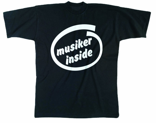 "T-Shirt ""Musiker inside"""