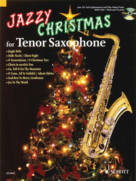 Jazzy Christmas for Tenor Saxophone (+ CD)