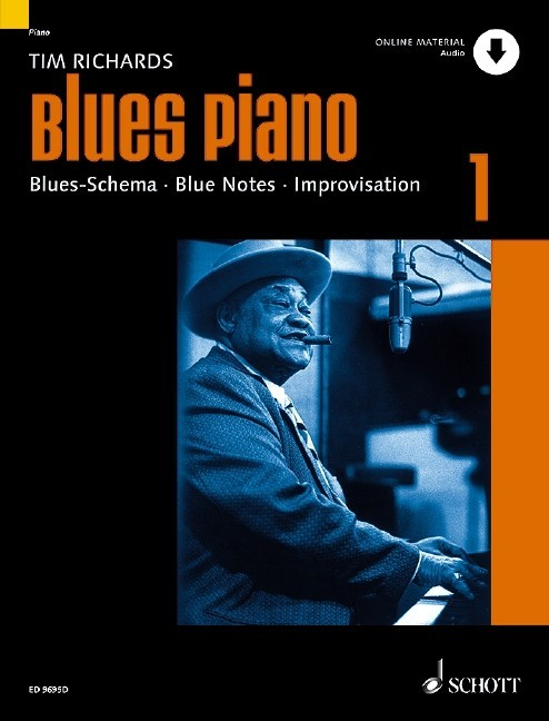 Blues Piano, Band 1 mit Download-Code