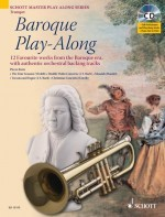 Baroque Play-Along für Trompete +CD