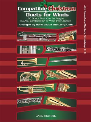 Compatible Christmas Duets for Winds - für 2 Alt-Saxophone